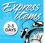 Click here to view of range of express promotional items available in 2-3 days A&A Marketing
