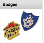 Click here to view our range of promotional badges A&A Marketing