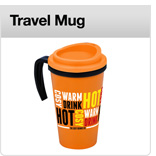 Click here to view our range of printed promotional travel mugs A&A Marketing